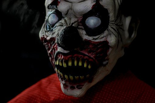 Clown, Dark, Killer, Horror, Terror, Danger, Dead