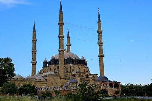 Cami, Minaret, Dome, Architecture, Islam, Religion