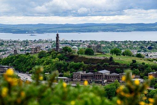 Scotland, Edinburgh, City, Beautiful, Cityscape
