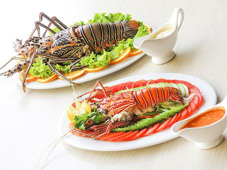 Lobsters, Menu, Lobster, Fish, Crab, Meal, Cuisine