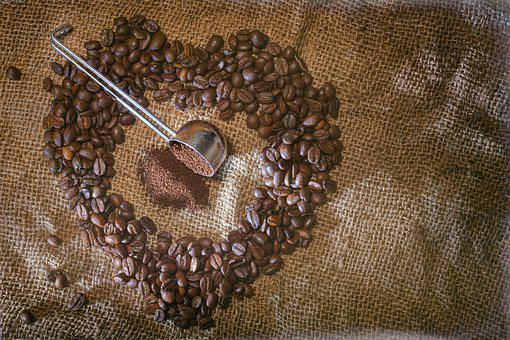 Coffee, Heart, Love, Coffee Beans, Benefit From