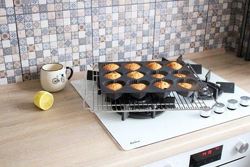 Baking, Cake, Maffin, Tasty, Kitchen, Delicious, Pie