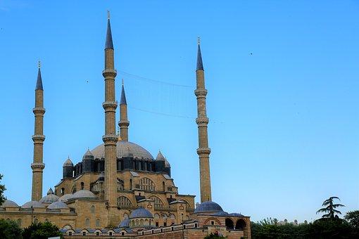 Cami, Minaret, Dome, Architecture, Beautiful, Islam