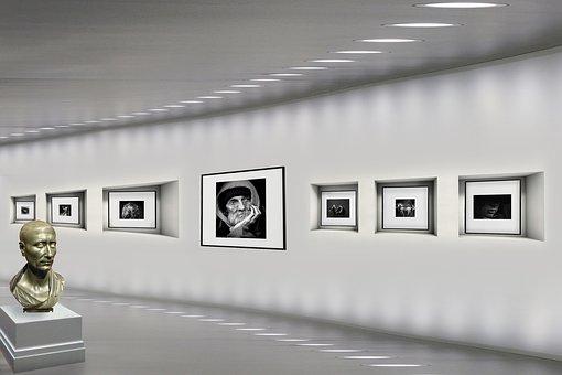Gallery, Art, Photographs, Museum, Sculpture