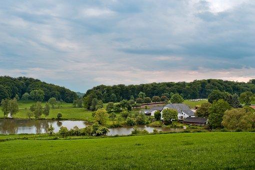Landscape, Farm, Rural, Agriculture, Field, Nature