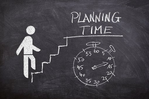 Business, Success, Planning, Schedule, Plan, Stairs
