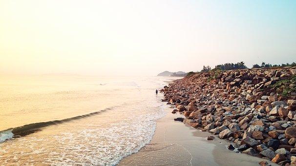 Beach, Wave, Ocean, Sea, Water, Nature, Coast, Sky