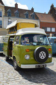 Volkswagen, Combi, Van, Transport, Vehicle, Vw, Retro