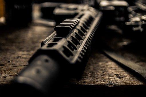 Rifle, Weapon, War, Pistol, Shoot, Ak-47, Contactors