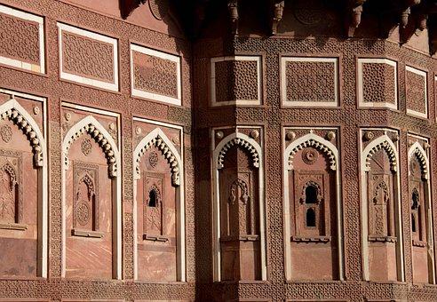 Amber Fort, Architecture, India, Asia, Jaipur, Travel