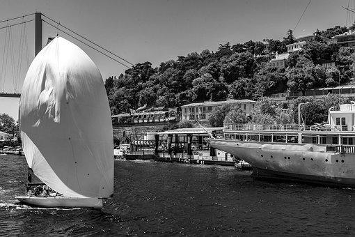 Istanbul, Turkey, Bosphorus, Sea, History, Architecture