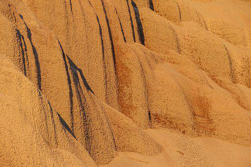Sand, Mountain, Background, Pattern, Texture, Structure