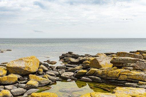 Coast, Cliffs, Cliff, Ocean, Nature, Landscape, Bank