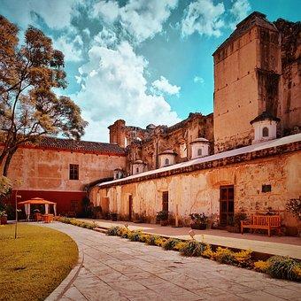 Antigua, Building, Guatemala, Facade, Architecture