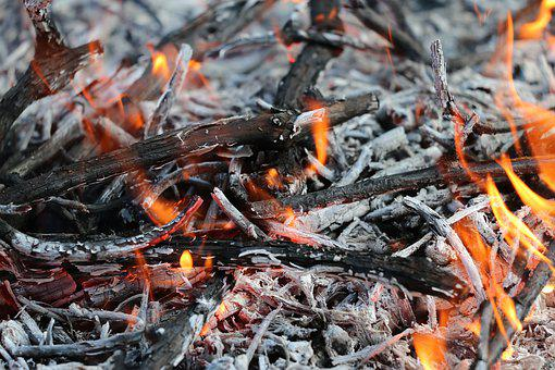 Careful With Fire, Site Of Fire, Burning, Hot, Flame