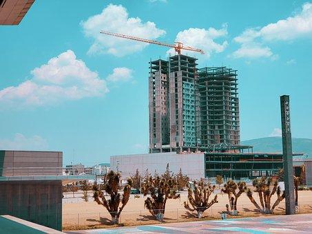Construction, Skyscraper, Architecture, Building, City