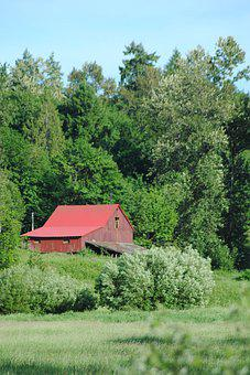 Barn, Farm, Shed, Rural, Countryside, Country