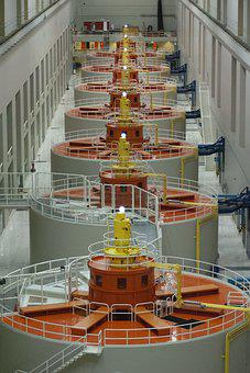 Dam, Turbine, Energy, Electricity, Generator