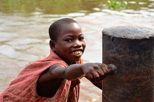 Drc, Democratic Republic Of Congo, Congo River, Bumba