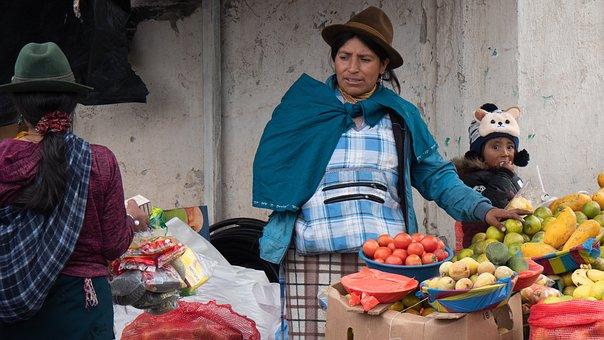 Ecuador, Market, Vegetables, Fruits, South America
