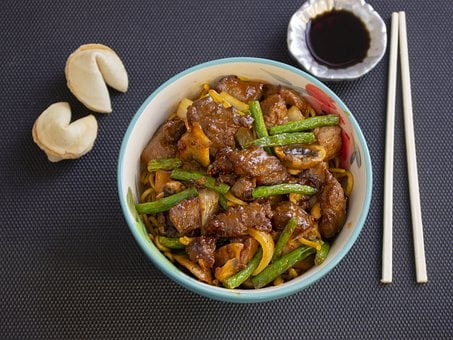 Asian, Cookies, Fortune, Angus, Meat, Chinese
