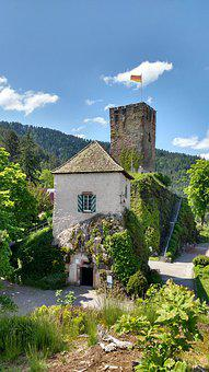 Castle, Burg, Schloss, Germany, Building, Fortress