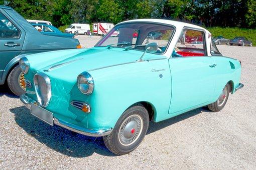 Goggomobil, Coupé 250, Auto, Goggo, Pkw, Classic, Old