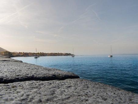 Sea, Ischia, Italy, Island, Mediterranean, Tourism