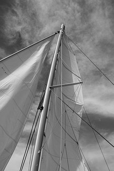 Sail, Sailboat, Catamaran, Mast, Mainsail