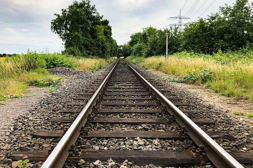 Gleise, Railway, Railroad Tracks, Old, Route, Rails
