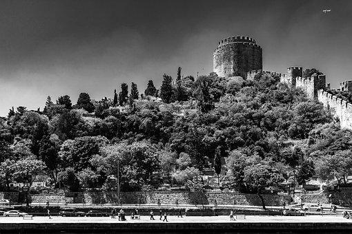 Istanbul, Turkey, Bosphorus, Sea, Seascape, 2014