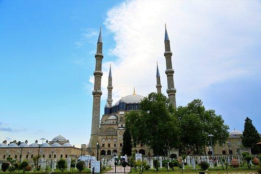 Cami, Minaret, Islam, Religion, Travel, Architecture