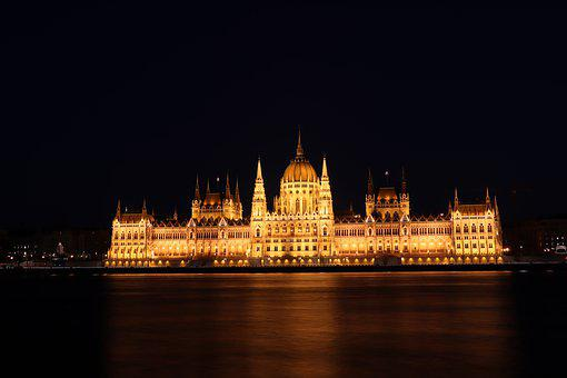 Budapest, Hungary, Tourism, Architecture, Water, Danube