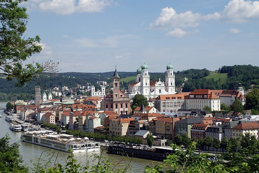 Historic Center, Passau, Bavaria, City Of Three Rivers