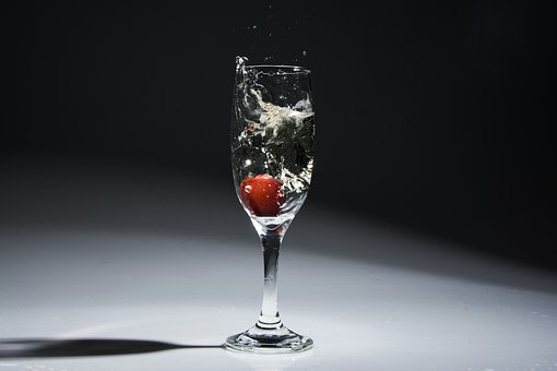 Glass, Bowl, Drink, Wine, Crown, Drinks, Fruit, Alcohol