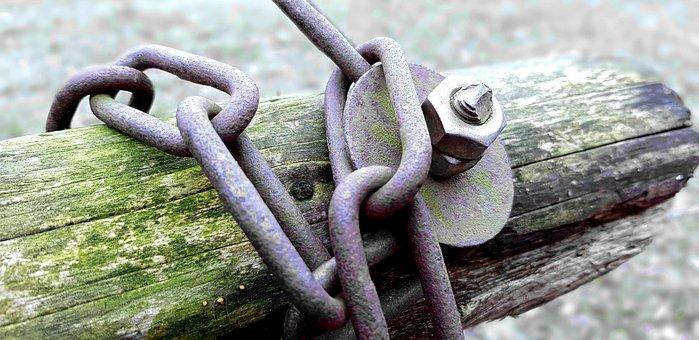 Chain, Metal Chain, Links Of The Chain, Members, Metal