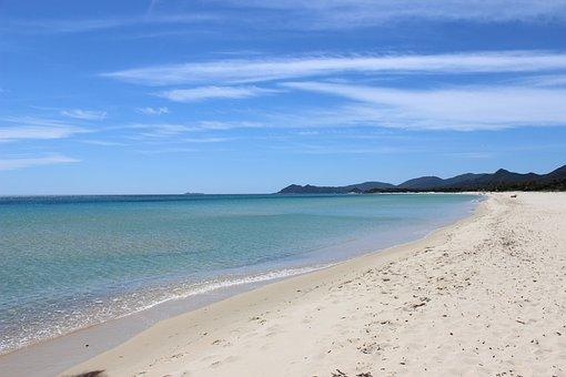 Sardinia, Sea, Beach, Summer, Costa, Holiday, Water