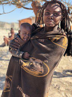 Namibia, People, Woman, Africans, Culture, Traditional