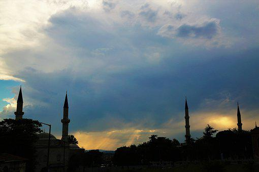 Cami, Minaret, Dome, Islam, Religion, Travel