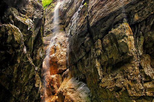 Partnachklamm, Grainau, Bavaria, Landscape, Nature