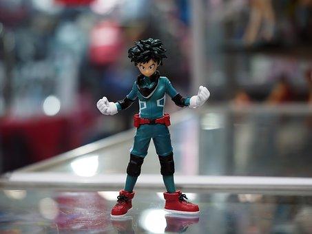 Hero Academy, Hero, Toy, Figurine, Small, Boot-leg