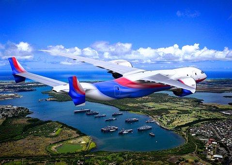 Concept, Airplane, Jet, Plane, Flight, Idea, Conceptual
