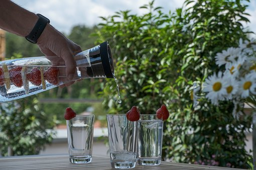 Glass, Water Carafe, Water, Drink, Fresh, Liquid