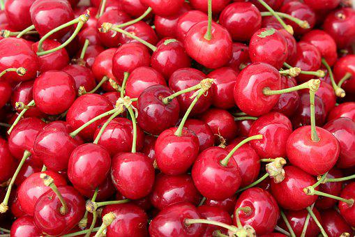 Cherries, Mature, Fruit, Red, Food, Healthy, Fresh