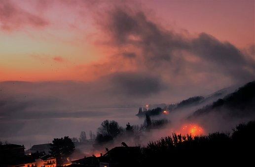 Foggy, Fantasy, Fog, Light, Nature, Mood, Landscape