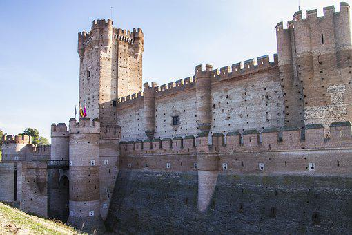 Castle, Old, Medieval, Historical, Fortress