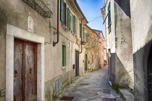 Fosdinovo, Tuscany, Borgo, Ancient, Architecture, Old