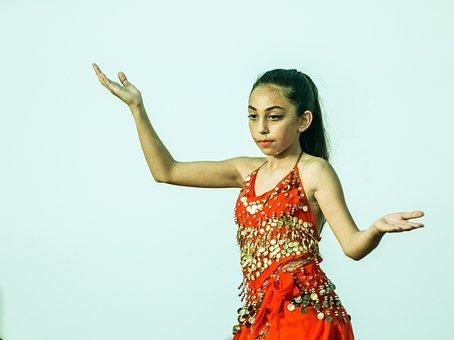 Belly Dance, Oriental, Dancer, Girl, Costume