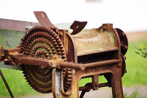 Press, Mill, Rust, Old, Agriculture, Antiquity, Vine
