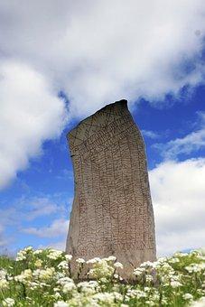 Runestone, Runes, Vikings, Sweden, Characters